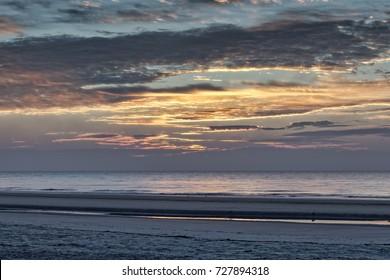 """Here Comes The Sun"" An early January morning sunrise on the beach, on Hilton Head Island, SC."