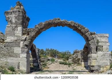Heredos Atticus Bath ruins in Alexandria Troas