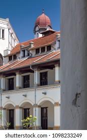 Heritage Colonial Building Called Lawang Sewu, Semarang, Indonesia