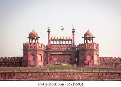 heritage delhi empire british red fort