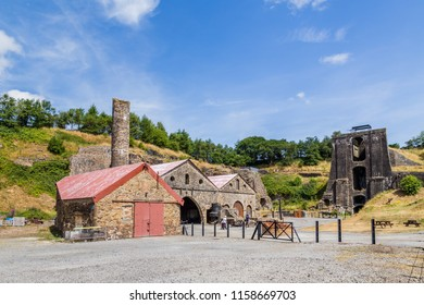 Heritage site Blaenavon Ironworks in Wales, UK