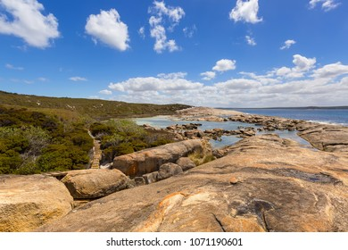 The Heritage Trail at Two Peoples Bay conservation reserve, beautiful walking trail through bushland in Albany, Western Australia.