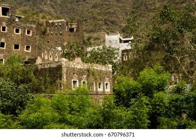 "Heritage village south Saudi Arabia called ""Rijal Alalma"" near Abha City"