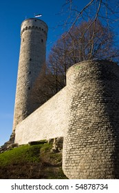 Herman tower in Tallinn`s Old town in Estonia