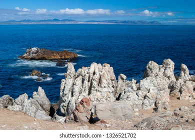 Hermanus is a seaside town southeast of Cape Town, in South Africa's Western Cape Province
