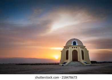 Hermitage located between Retamar and Cabo de Gata, in Almeria, southeast of Spain. It's placed near the beach.
