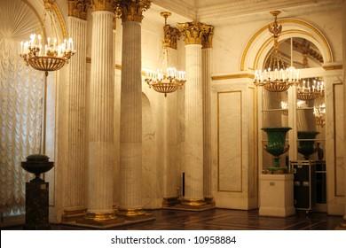 Hermitage in Saint Petersburg, Russia, Europe