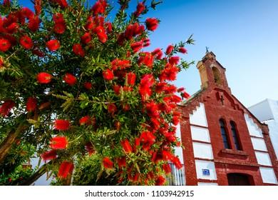 Hermitage of San Roque, Torrox, Axarquia Costa del Sol, Malaga, Andalusia, Spain, Iberian Peninsula