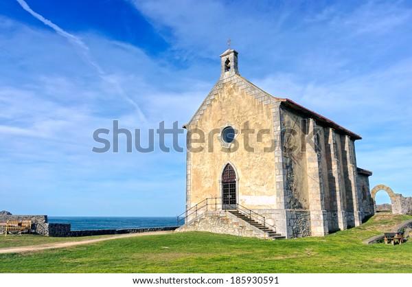 Hermitage of Santa Catalina in Mudaka. Basque Country
