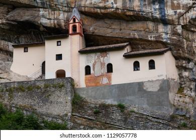 The Hermitage of St. Colomban  at Trambileno, near Rovereto, Italy