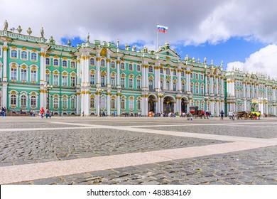Hermitage in St. Petersburg, Russia