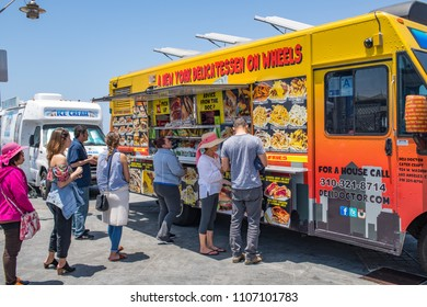 Hermosa Beach, CA: 5/28/2018:  A food truck in the Hermosa Beach area.  Food trucks have become a lot more popular in southern California in recent years.