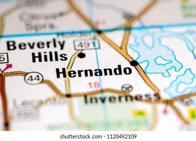 Hernando Florida Map.Hernando Map Images Stock Photos Vectors Shutterstock