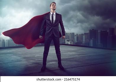 Hero with Cape