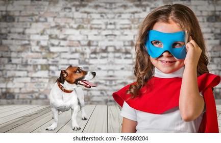 Hero, child, super.