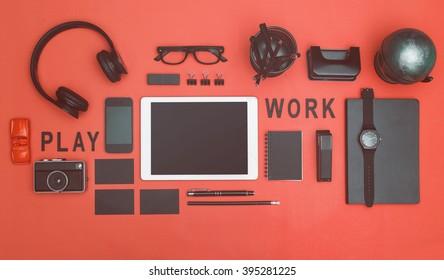Hero header office/work concept image