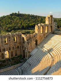 Herodus Amphitheater at The Acropolis, Athens