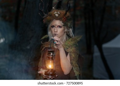 Heroes of fairy tales and fantasy. Druid. LARP