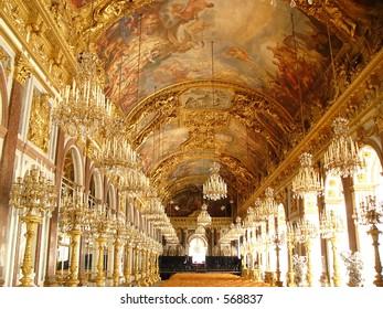 Herrenchiemsee palace hall