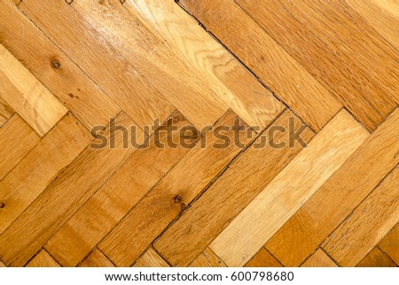 Herringbone Pattern Wooden Floor Texture Close Stock Photo Edit Now