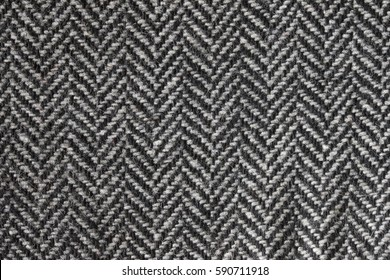 herringbone tweed fabric texture