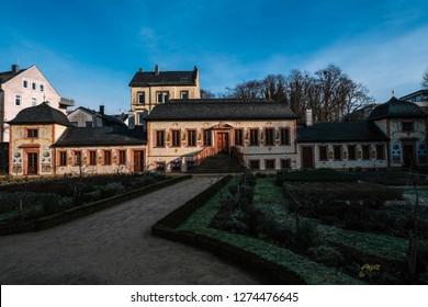 The Herrngarten is a popular attraction in Darmstadt, Germany.