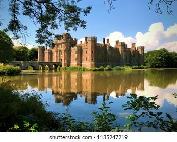 Herstmonceux Castle  East Sussex