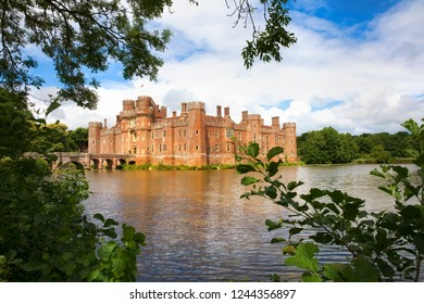 Herstmonceux Castle, One of the Oldest Significant Brick Buildings Still Standing in England