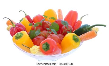 Herzhaftes Gemüse Sortiment