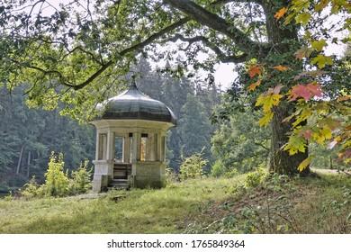 Herzog-Adolf-Tempel at the Waldsee near Bad Schwalbach