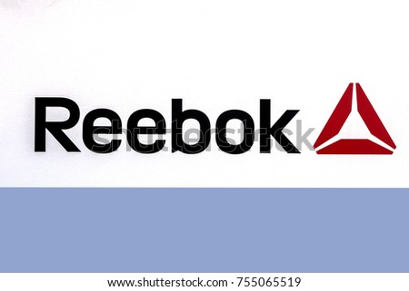 0d28524940b3 Herzogenaurach AUG 13 Reebok Logo Sign Stock Photo (Edit Now ...