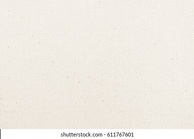 Hessian sackcloth woven texture pattern background in light white pastel beige cream color