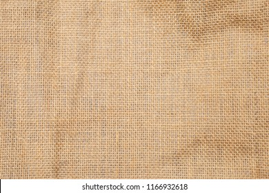 Hessian texture background, brown natural fiber texture