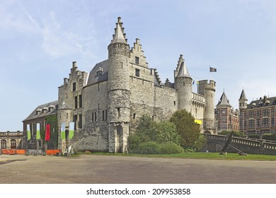 Het Steen (Castle Steen) - a medieval fortress in the old city centre of Antwerp, Belgium