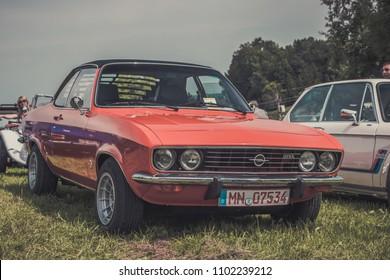 Opel Manta Images, Stock Photos & Vectors | Shutterstock