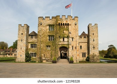 Hever Castle, Kent, United Kingdom - childhood home of Anne Boylen