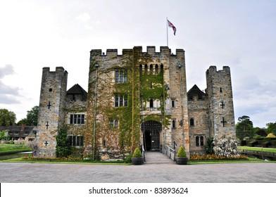 Hever Castle on sunny summer day. UK