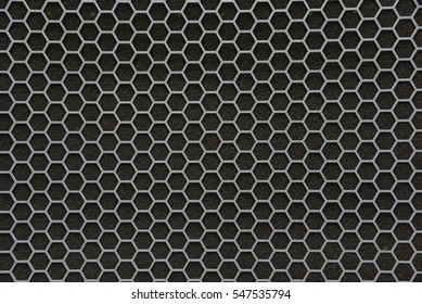 hexagonal grid seamless pattern with small cell.