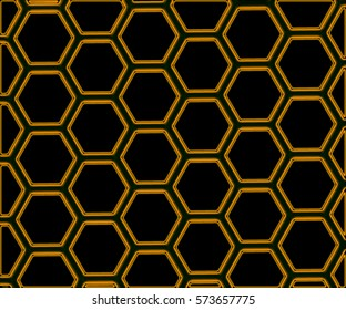 Hexagonal Structure - Abstract Background