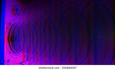 Hi end loudspeakers. Monitor hifi sound system for sound recording studio. Professional hi-fi speaker box. Audio equipment for home theater. Speakers boxes audio music concert. Audio stereo system. - Shutterstock ID 1963064347