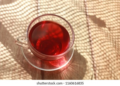 hibiscus cup of tea