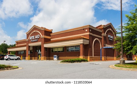 HICKORY, NC, USA-22 JUNE 18:  Rite-Aid Corporation is the largest drugstore chain in the US.