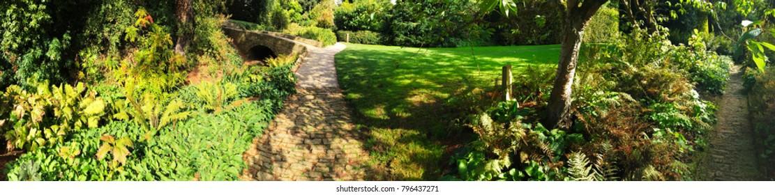 hidcote manor gardens cotswolds uk