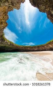 Hidden Beach Islas Marietas Riviera Nayarit, Playa del Amor Puerto Vallarta