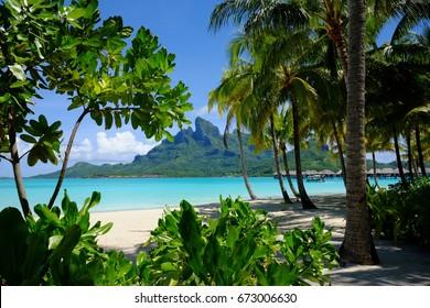 Das versteckte Juwel in Französisch-Polynesien, Bora Bora, Tahiti.