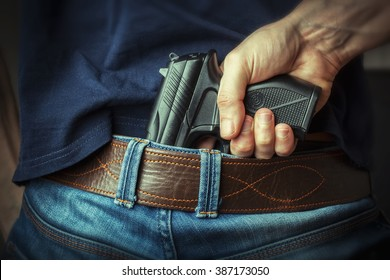 Hidden gun