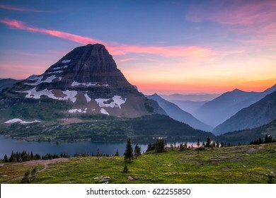 Hidden Lake Trail, Logan Pass, Glacier National Park, Montana, USA