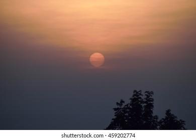 Hidden sunrise