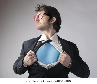 Hidden superhero
