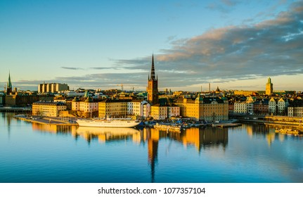 Monteliusvägen is a hidden trail that overlooks Gamla Stan, the old Stockholm town. This quiet gem is known to many locals and provides the best view of Stockholm.